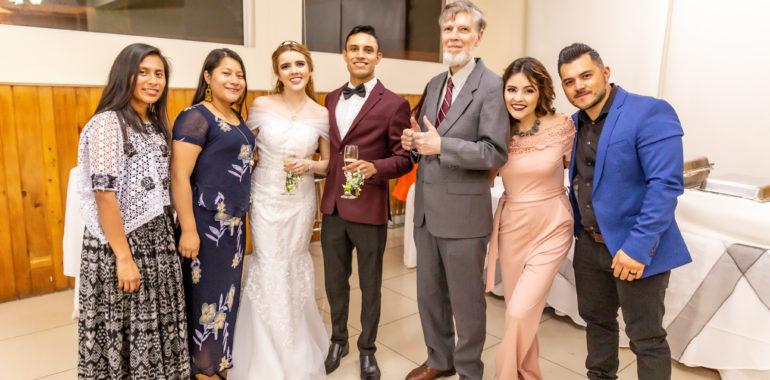 "FLAAR Mesoamerica ""family"" at wedding of Cucu and Erick"